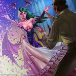 Morrigan Aensland Dream Thief by Ogodo