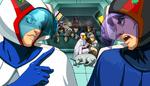 Tatsunoko vs Capcom UAS Joe the Condor ending Pyron Demitri