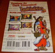 Darkstalkers 3 Official Fighting Guide back