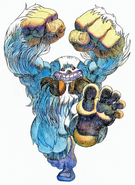 Night Warriors Darkstalkers Revenge Sasquatch 01