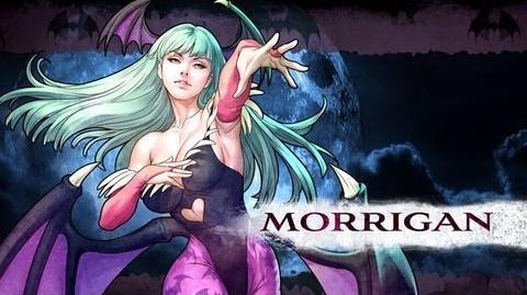 List of Morrigan Aensland moves