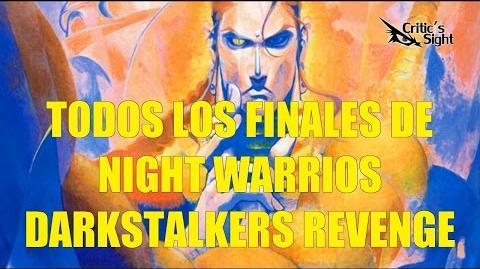 Todos los Finales de Night Warriors Darkstalkers Revenge en Español HD