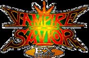 Vampire Savior EX Edition logo