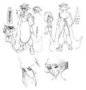Hsien-Ko Night Warriors Sketch