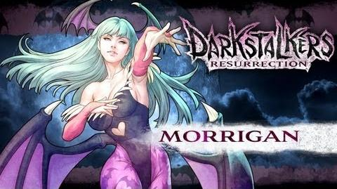 Darkstalkers Resurrection - Morrigan Aensland