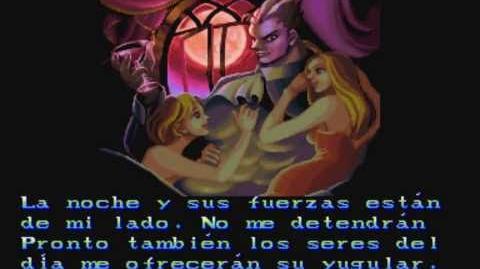 Darkstalkers The Night Warriors - Demitri Ending Español
