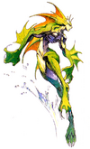 Darkstalkers The Night Warriors Rikuo 01