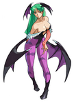 Marvel vs Capcom Morrigan Art