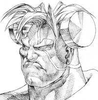 Victor Vampire Savior sketch