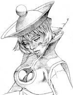 Vampire Savior Hsien-Ko sketch