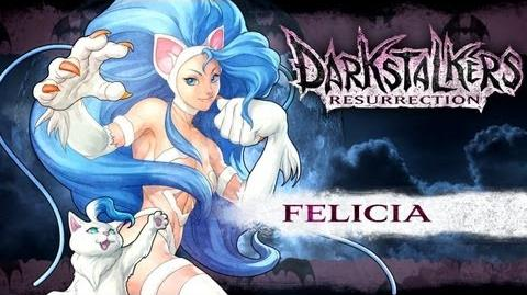 Darkstalkers Resurrection - Felicia