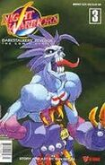 Night Warriors Darkstalkers' Revenge 3 (1998 comic)