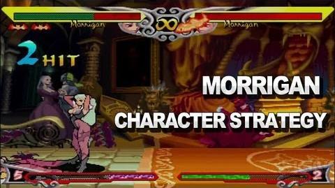 Darkstalkers - Morrigan Character Strategy