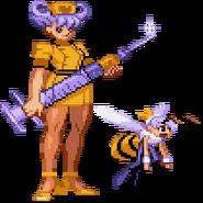 Darkstalkers Q-Bee transforms