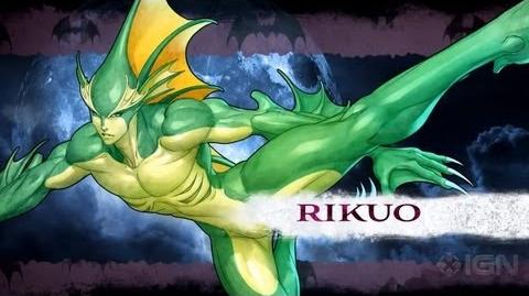 Darkstalkers - Rikuo Moves List