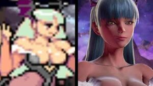 Morrigan Aensland Evolution (1994-2017)