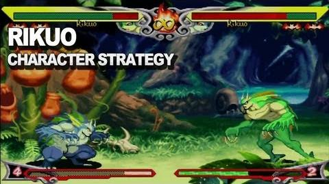 Darkstalkers - Rikuo Character Strategy