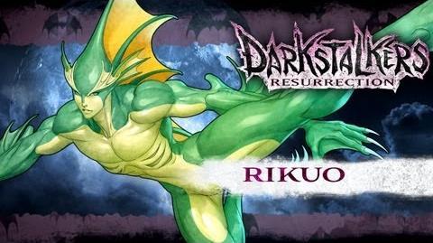 Darkstalkers Resurrection - Rikuo