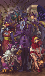 Udon Crew Darkstalkers The Nigth Warriors 02 2A