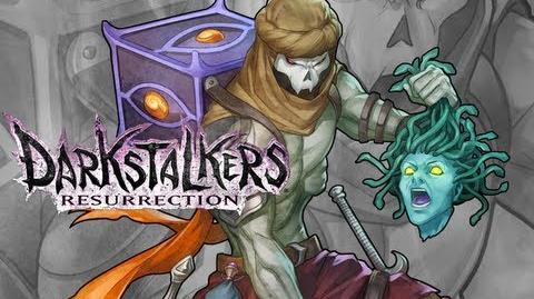 Darkstalkers Resurrection - Relic - Stanley Lau Live Coloring - Embrace the Dark Contest Winner
