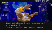 Darkstalkers Anakaris screen