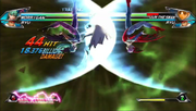 Tatsunoko vs Capcom Lilith Darkness Illusion