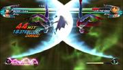 Tatsunoko vs Capcom Lilith Darkness Illusion
