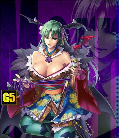Archivo:Morrigan-OnimushaSoul-CapcomHero-C.png