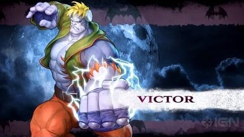 Darkstalkers - Victor Moves Lists