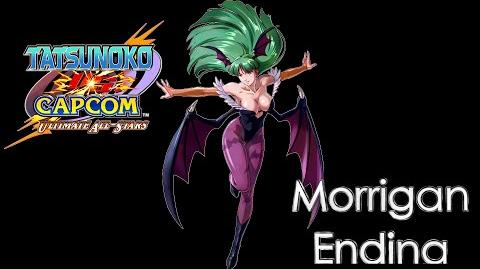 Tatsunoko VS Capcom Morrigan Complete Ending Movie HD