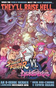 Street Fighters VS Darkstalkers tease