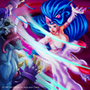 Felicia Dancing Flash by Godfrey Escota