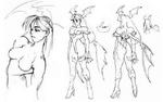 Morrigan concept sketches