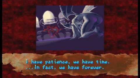 Demitri's Darkstalkers 3 Ending