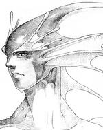 Vampire Savior Rikuo sketch