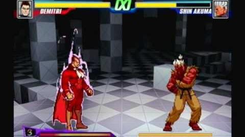 Capcom Fighting Evolution - Midnight Bliss (Pyron Shin Akuma)