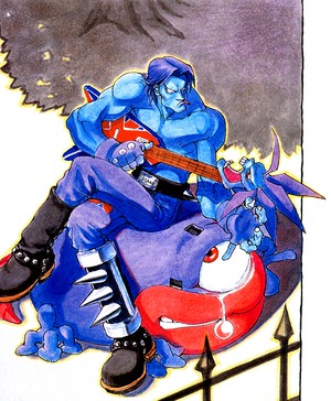 Night Warriors Darkstalkers Revenge Lord Raptor 01