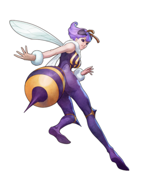 Darkstalkers Resurrection Q-Bee