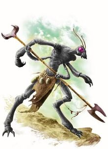 Thri kreen Druid
