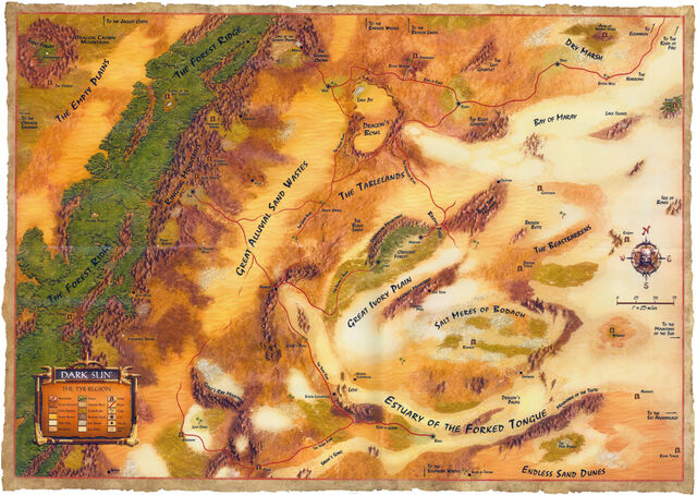 Athas map