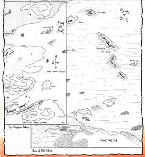 Sea of Silt Map