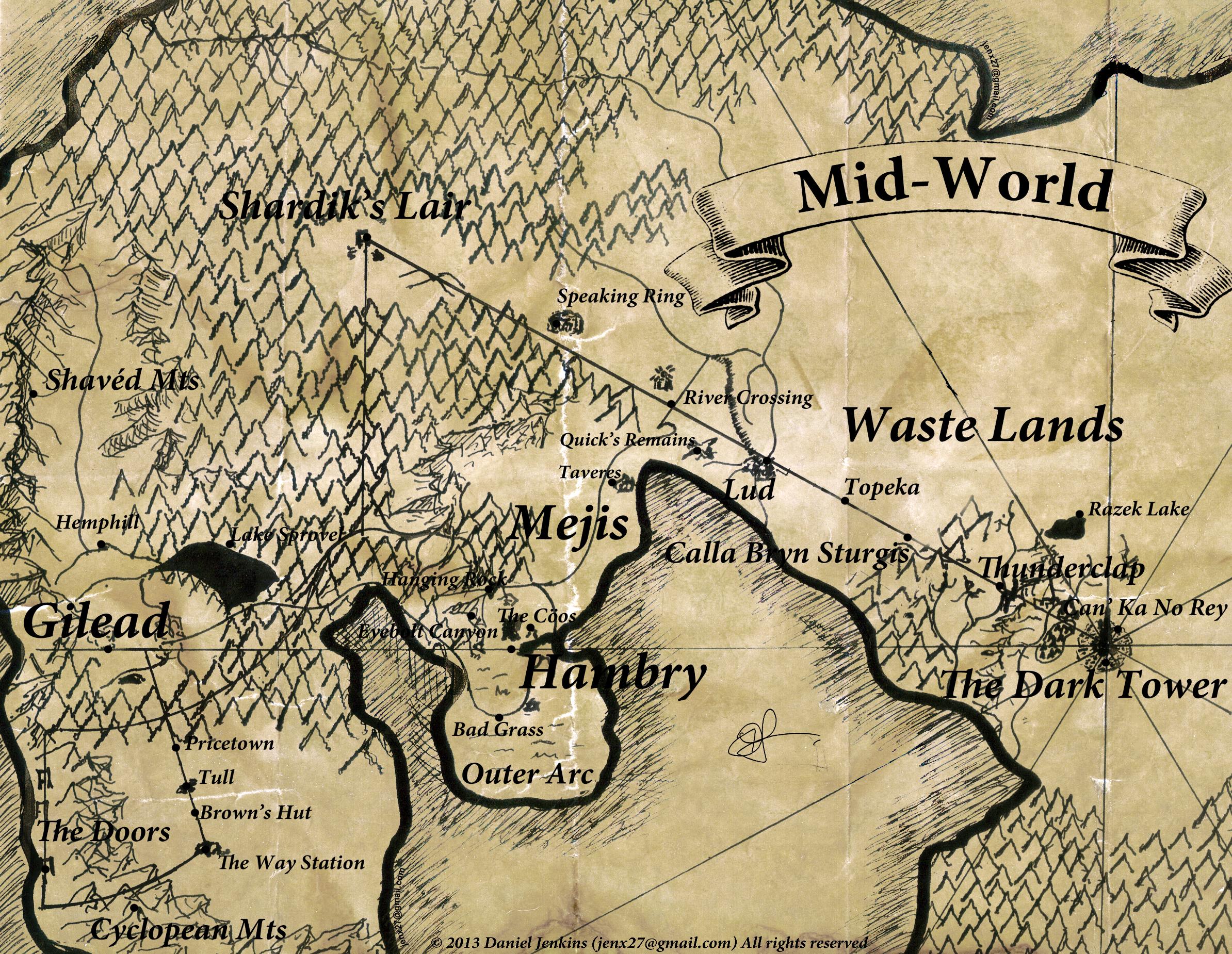 Mid World   The Dark Tower Wiki   FANDOM powered by Wikia