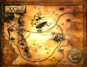 Dark tower map of mejis