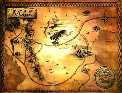 Image  Dark tower map of mejisjpg  The Dark Tower Wiki  FANDOM