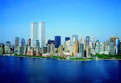 800px-LOC Lower Manhattan New York City World Trade Center August 2001