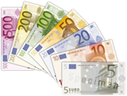 220px-Euro banknotes