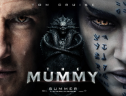 The Mummy landscape poster