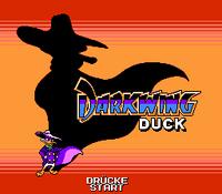 Darkwing Duck (NES) - Titelscreen