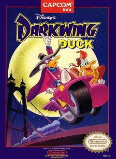 Darkwing Duck (NES) Cover (U)