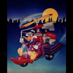 Playmates Toys - Quack Copter art